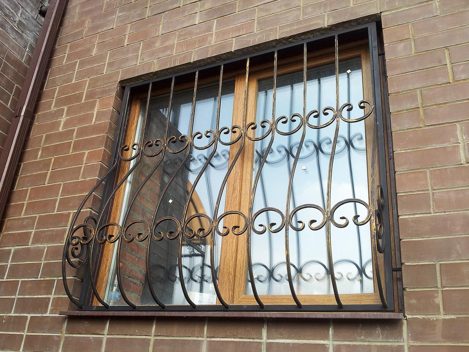 Дутые решетки на окна - RICH-MARKET.MK.UA